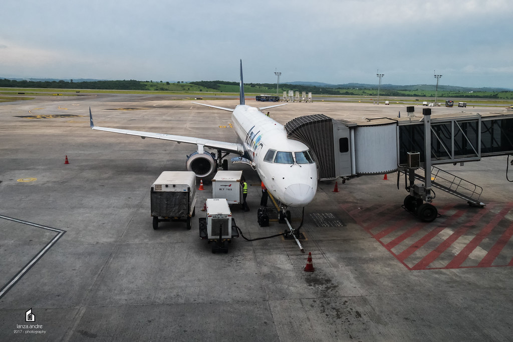Confins Airport is a hub for Azul Brazilian Airlines.