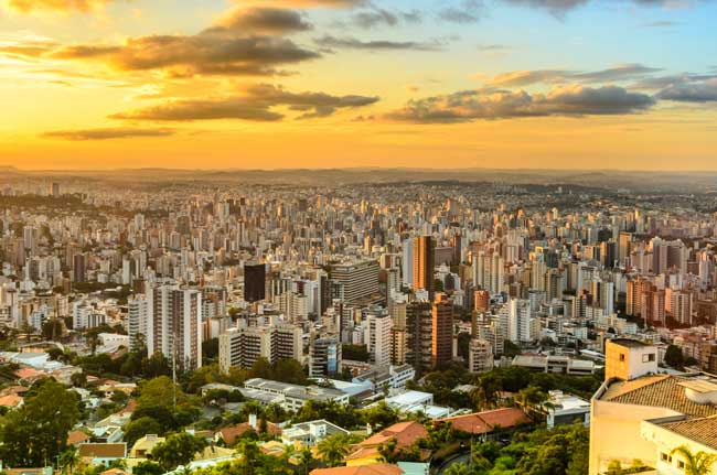 Belo Horizonte is the capital of Minas Gerais state.